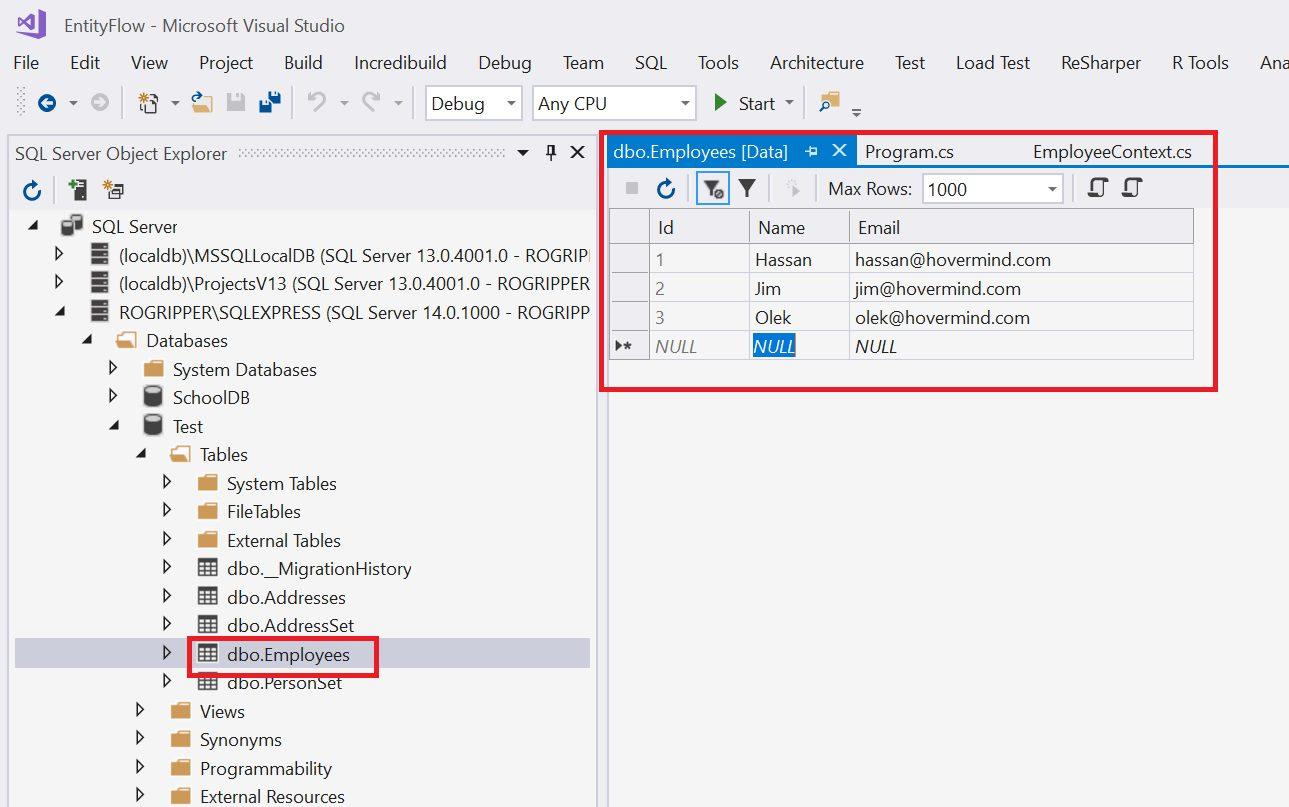 Entity Framework Code Fisrt Approach - Creating edmx from DbContext Step 21